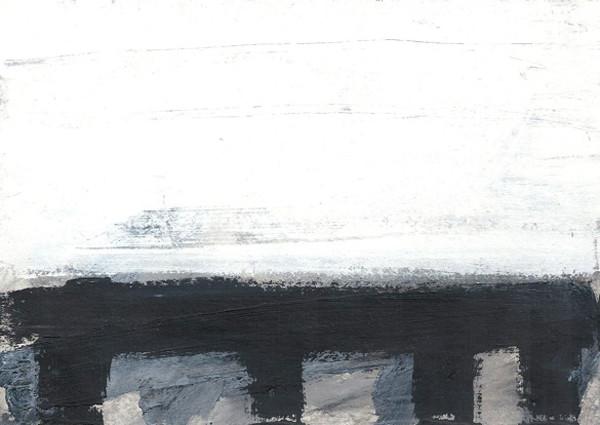 Ohne Titel 2007 Acryl auf Papier 14,8x21cm