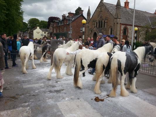 Appelby Tinkermarkt in England