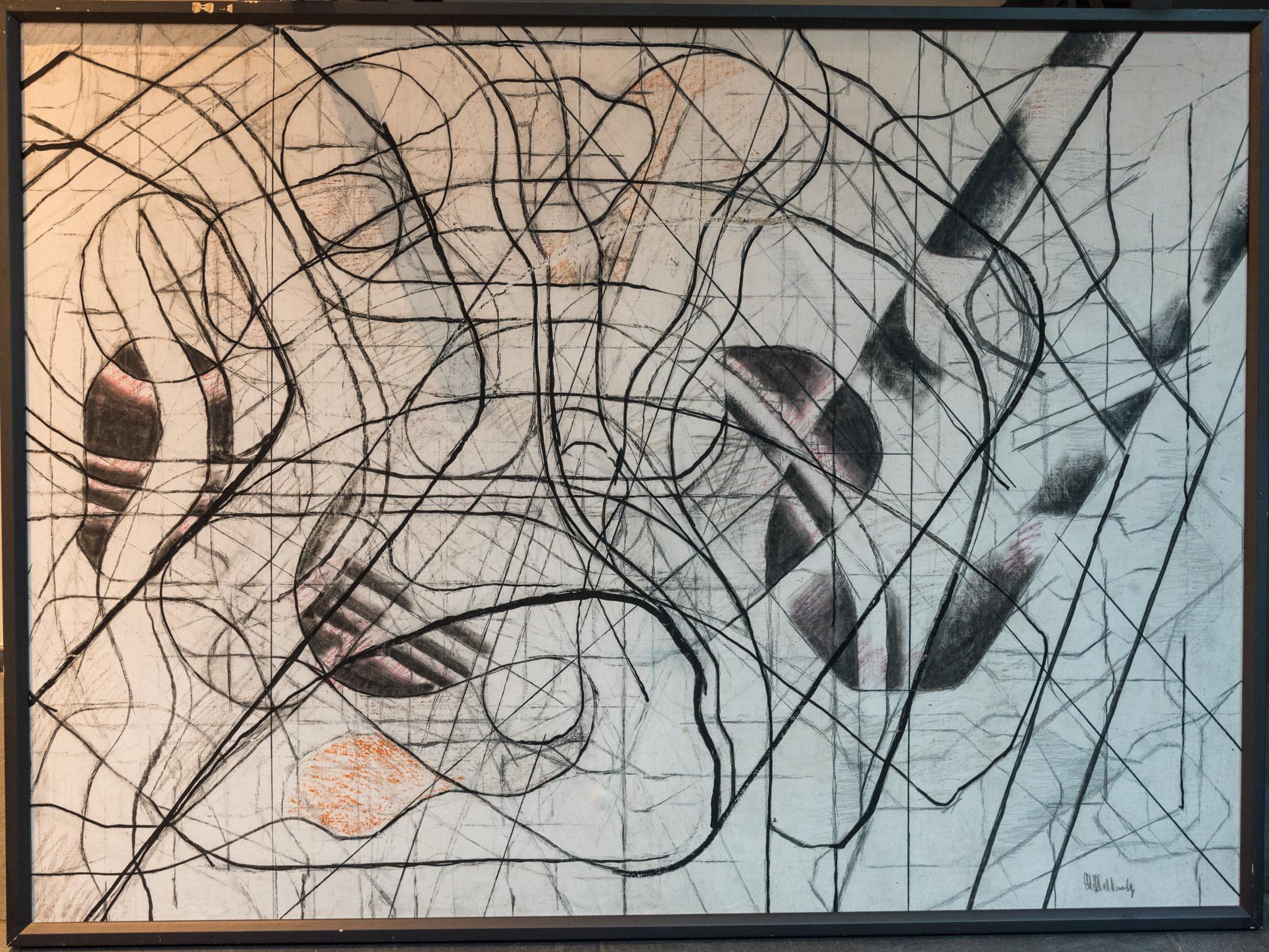Flötist Boris Chemetov Konstruktivismus