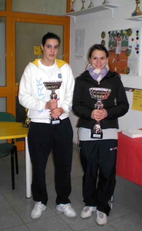 Finaliste s.f. 1° Torneo di Voltri (Bianca Sibilla e Silvia Mercatelli)