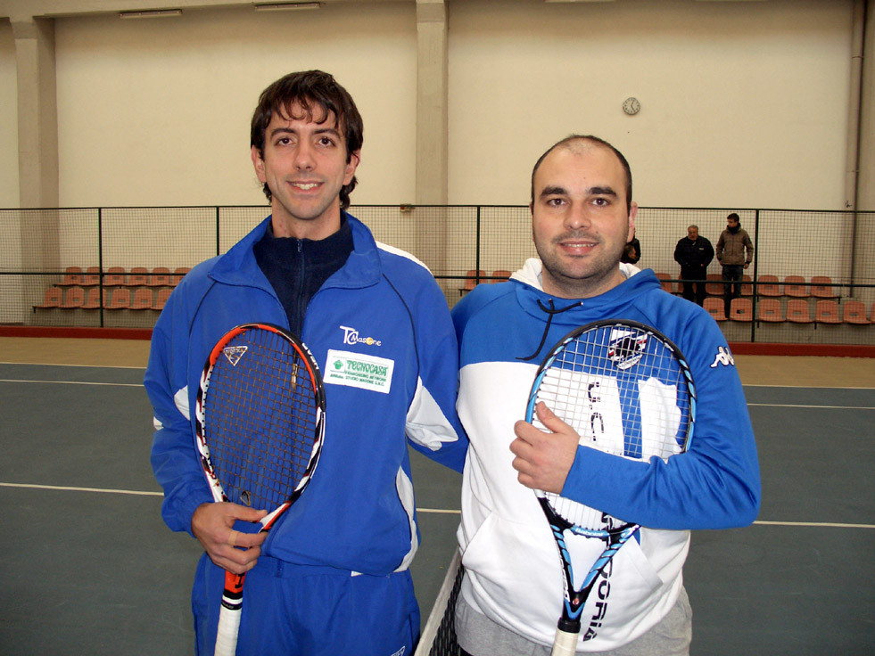 Finalisti s.m. 1° Torneo di Voltri (Lorenzo Santelli e Maurizio Ferrara)
