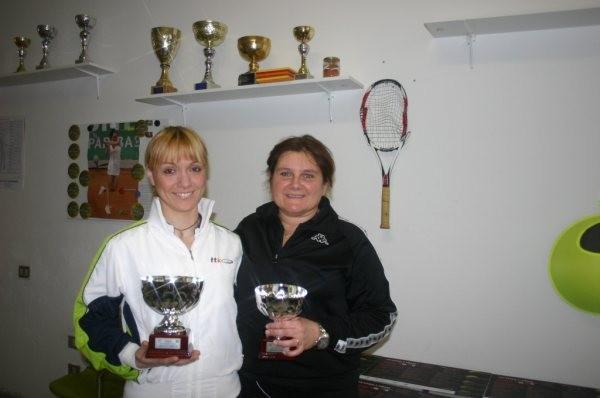Finaliste s.f. tabellone interm. Torneo UISP - FIT (Laura Corradi e Alessandra De Giorgi)