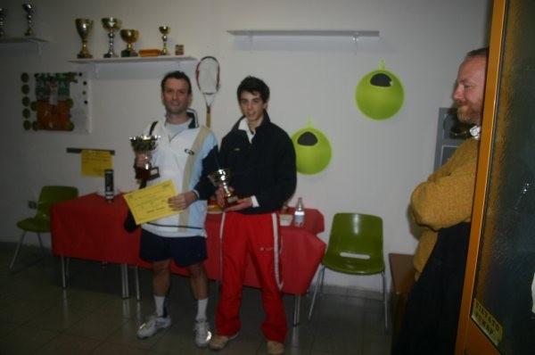 Finalisti s.m. Torneo UISP - FIT (Alessandro Ardinghi e Emanuele Rossi)