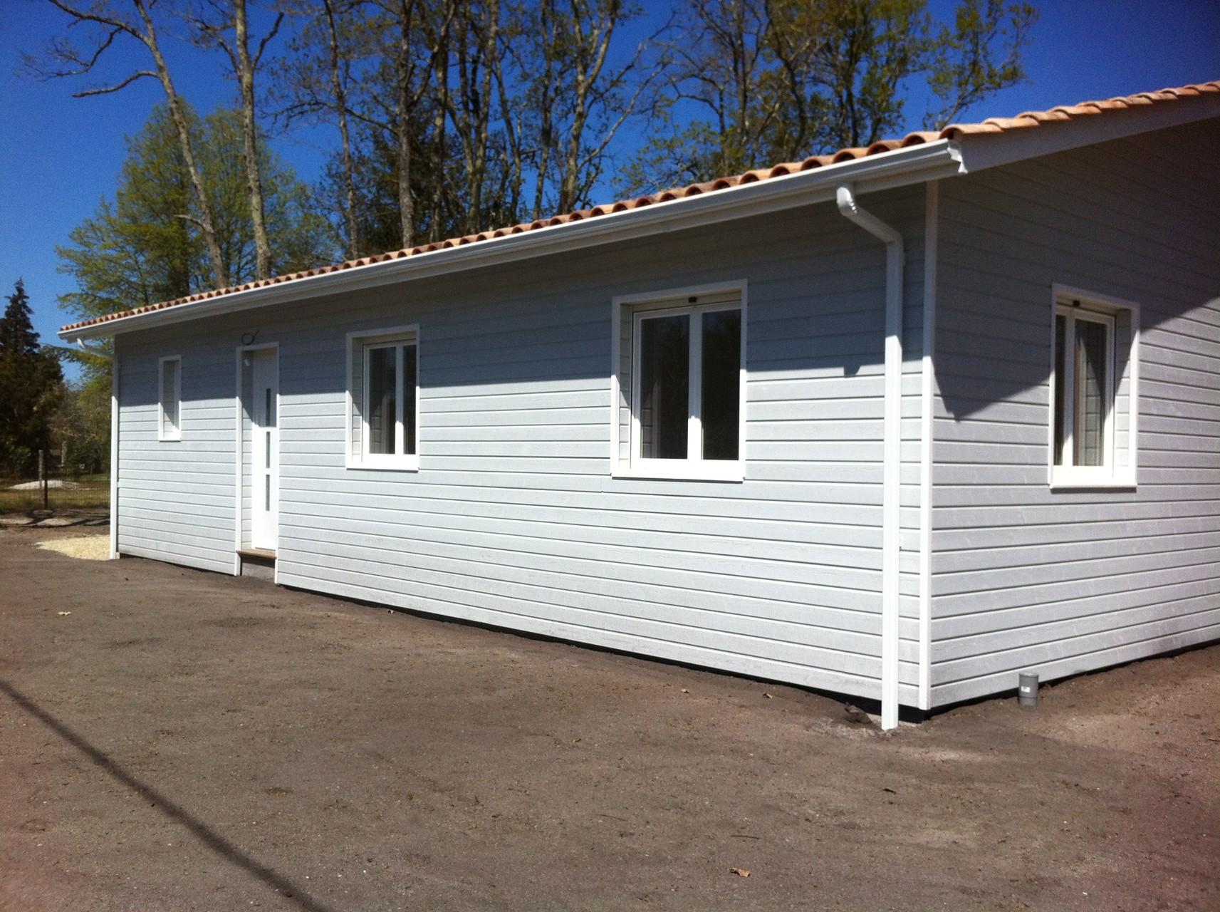 Maison toit plat Marcheprime HAPPY HOME 33 Construction Maisons Bois en Gironde # Construction Bois Gironde