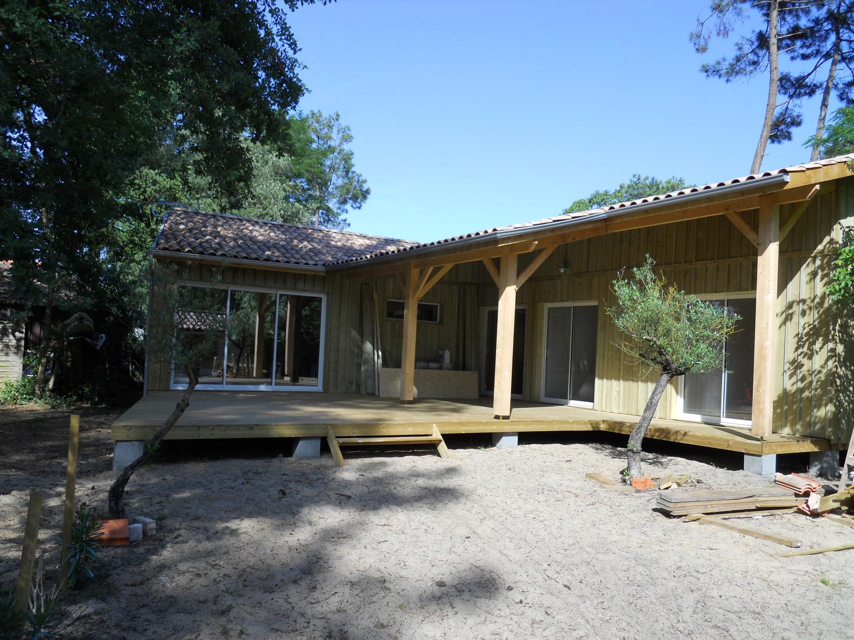creations happy home 33 construction maisons bois en gironde. Black Bedroom Furniture Sets. Home Design Ideas