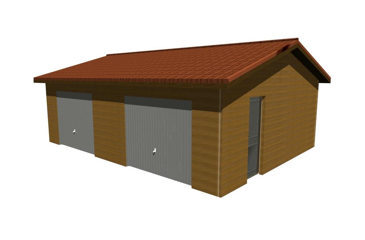 garage en ossature bois mod les et prix happy home 33 construction maisons bois en gironde. Black Bedroom Furniture Sets. Home Design Ideas
