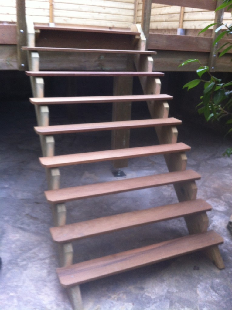 """Détail escalier d""""accés"""