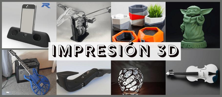 Los mejores sitios gratuitos para descargar modelos para impresión 3D