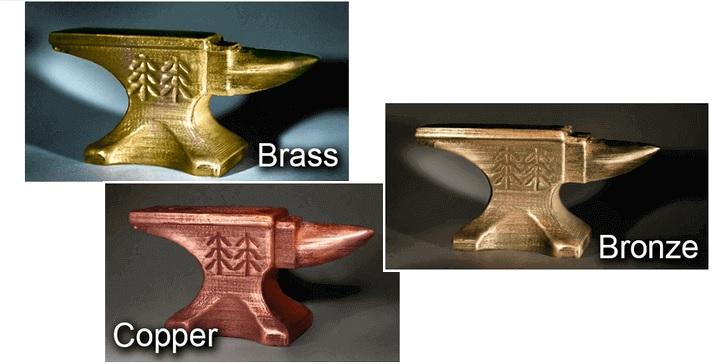 Filamento 3D Metal