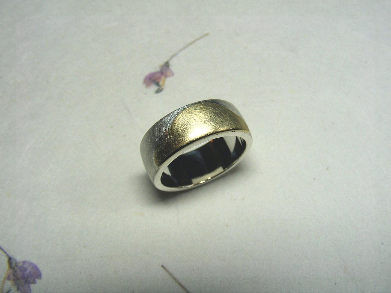 zilver en 14kt geelgoud