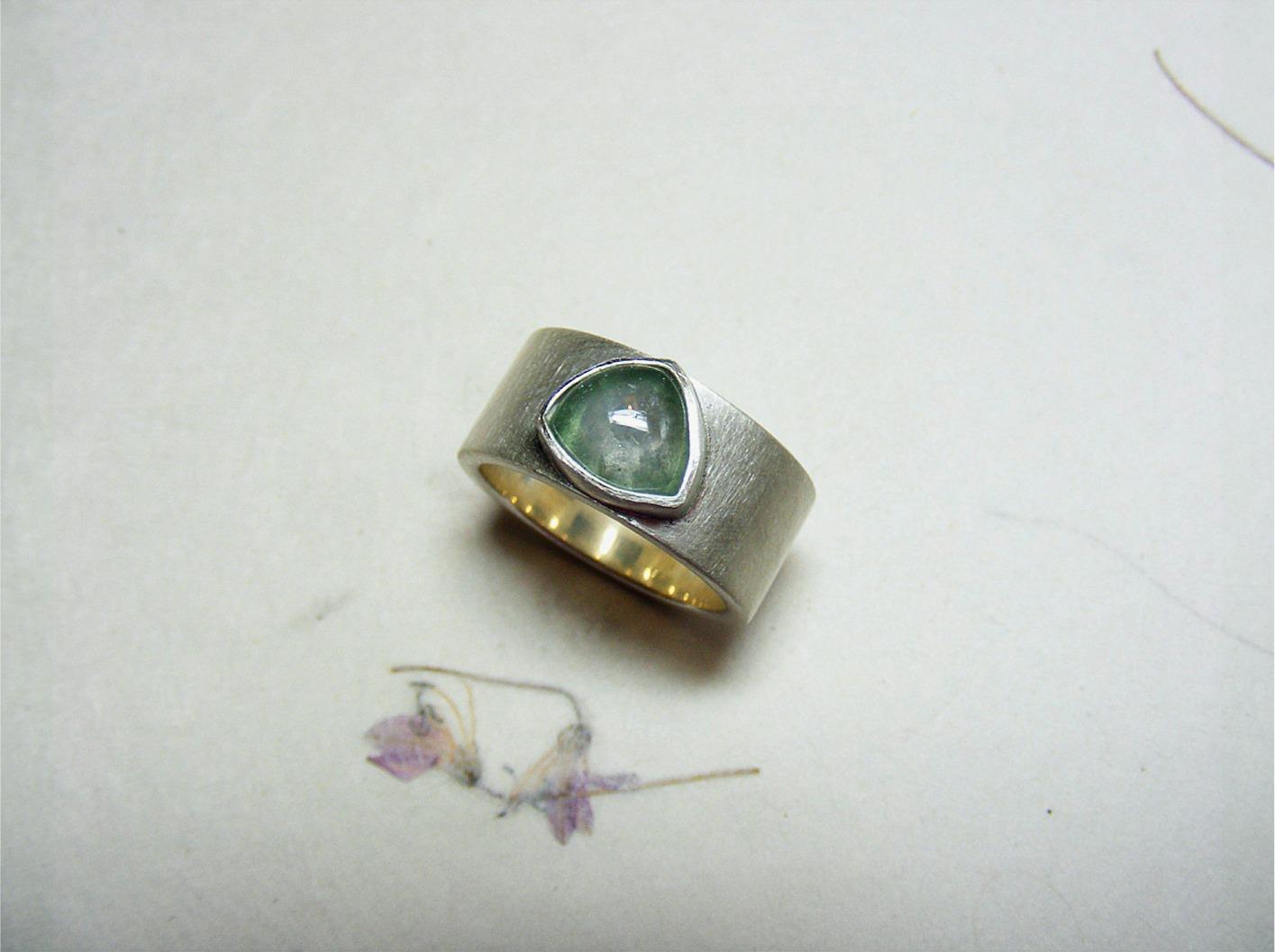 zilver en toermalijn