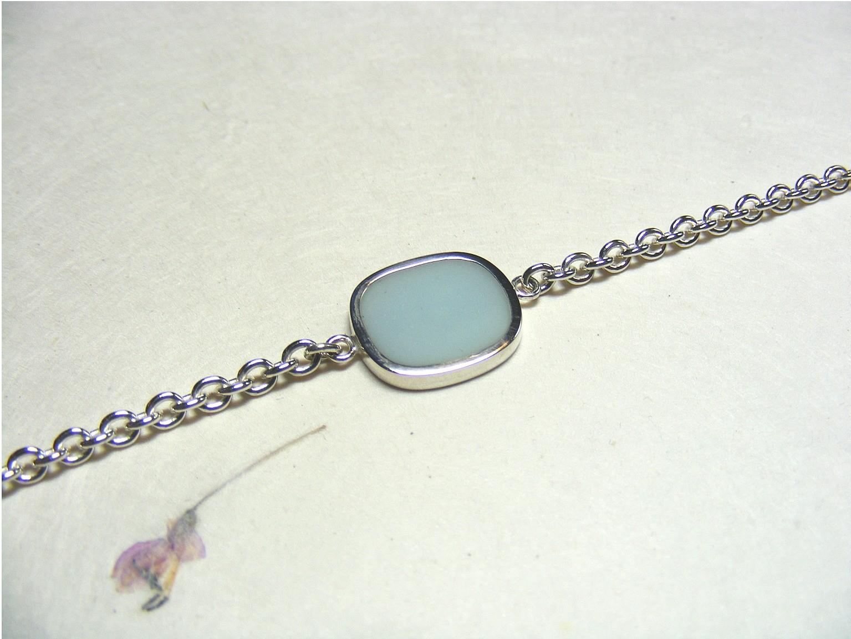 zilver en blauwe acrylhars