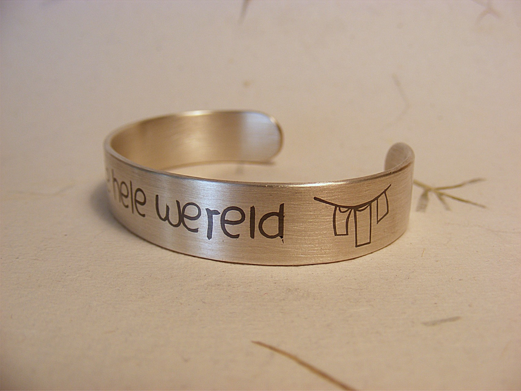 armband, zilver en niëllo