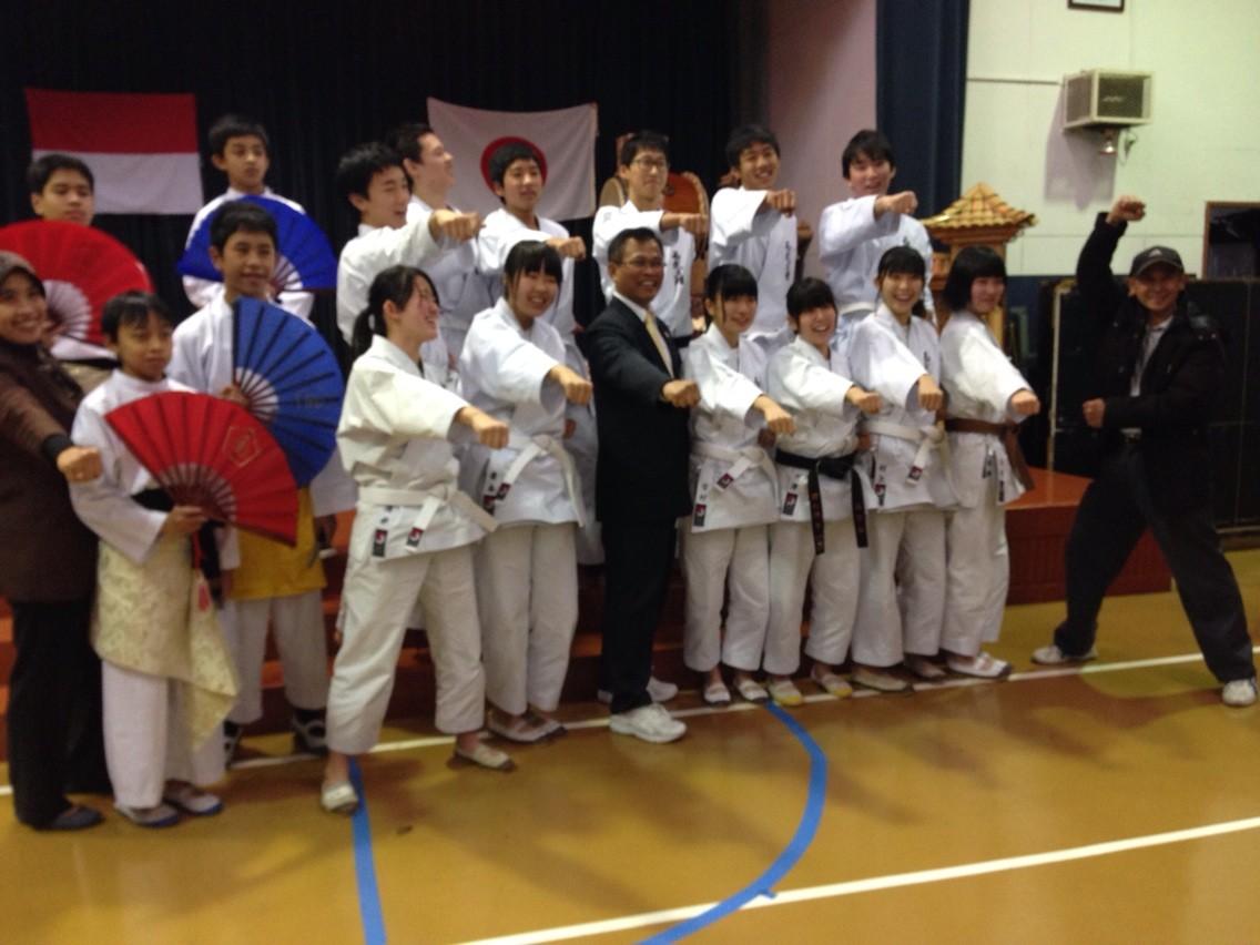 インドネシア人学校で交流イベント