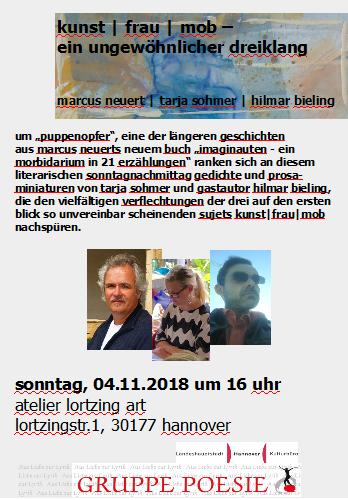 kunst   frau   mob. zuerst vorgestellt im november 2018 bei lortzing art, im märz 2019 noch einmal in der arthothek hannover.