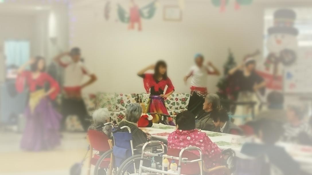 ボランティア活動ベリー&ラジヨガ 2017 クリスマス