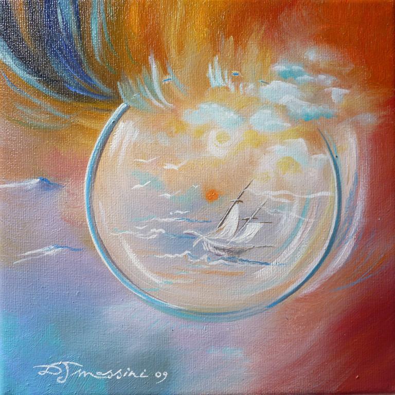 bulle de voyage 15X15