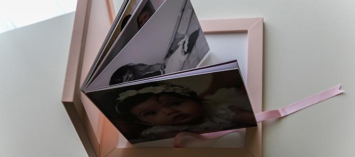 Sanremo fotografo per battesimo - album battesimo Graphistudio