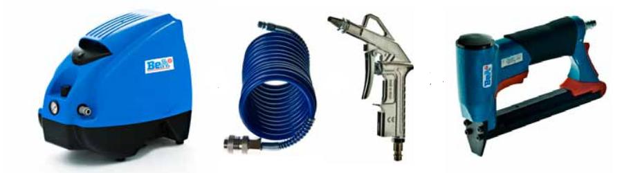 portabler kompressor, sprialschlauch, druckluftschlauch, ausblaspistole, blaspistole, druckluftpistole, druckluftnagler, drucklufttacker, drucklufttacker, tacker