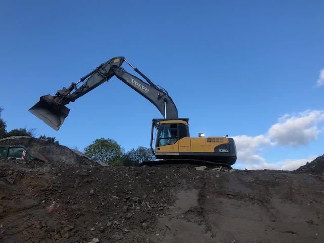 36t Kettenbagger mit Rototiltanlage für schweren Erdbau, Abriss und Rodungen