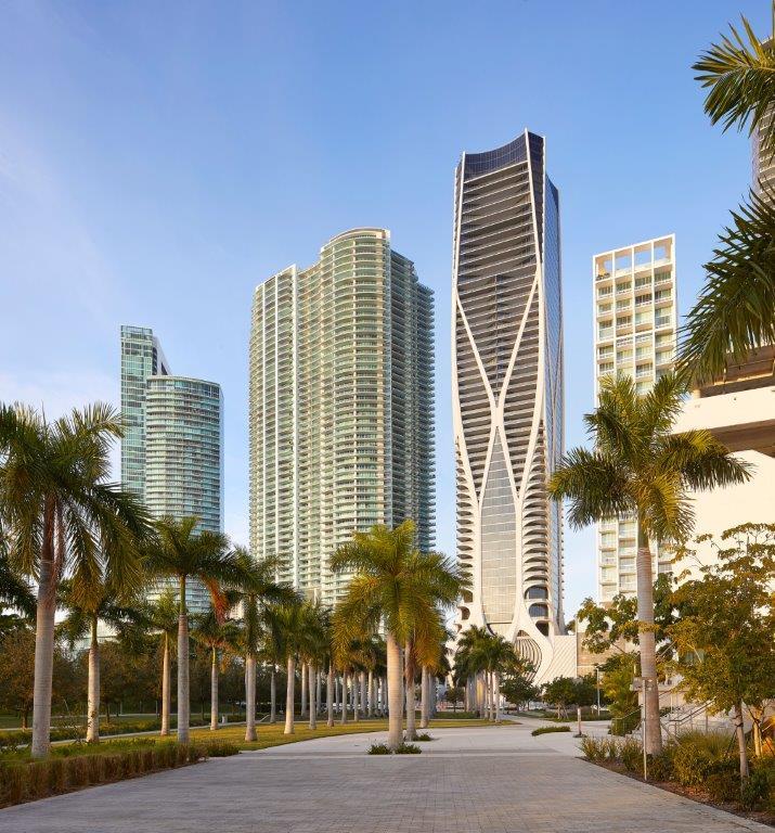 8. Platz: One Thousand Museum in Miami, USA. Copyright: Hufton+Crow