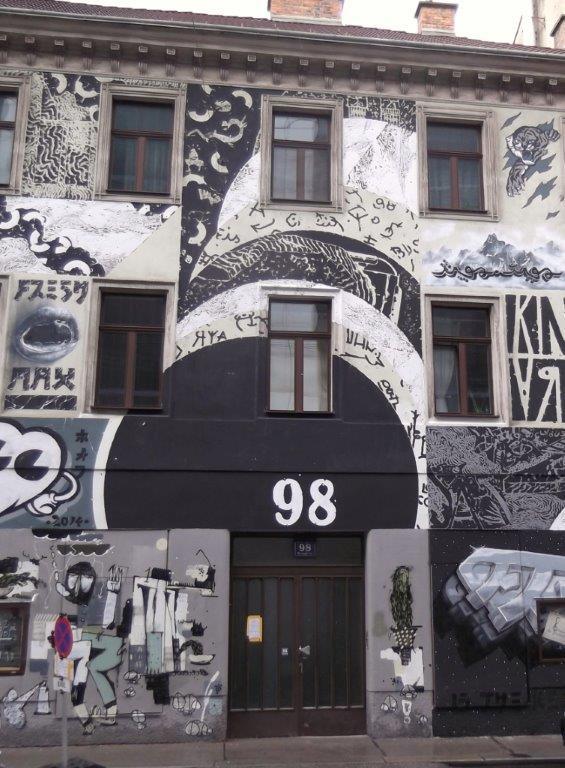 Wien, Burggasse 98. © Reinhard A. Sudy