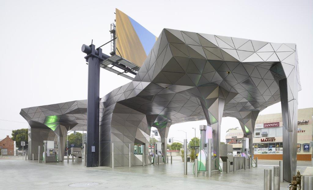 Helios Gas Station, Los Angeles,  Foto: Eric Staudenmaier