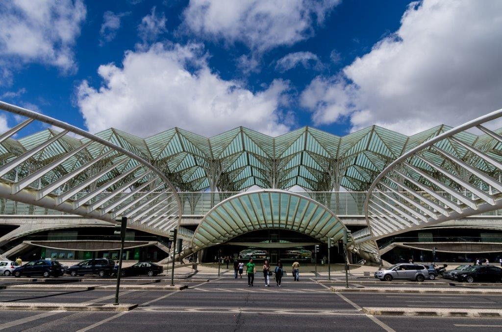 Gare do Oriente, Copyright Dominique Schreckling