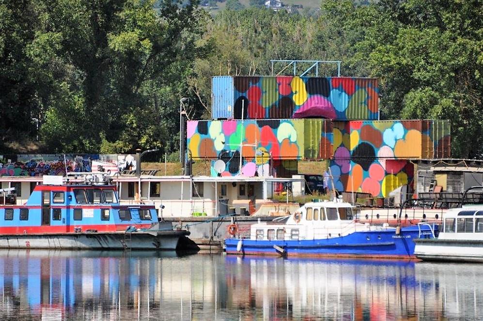 Mural Harbor - Art Space - Die Hafengalerie. © 2018 Reinhard A. Sudy