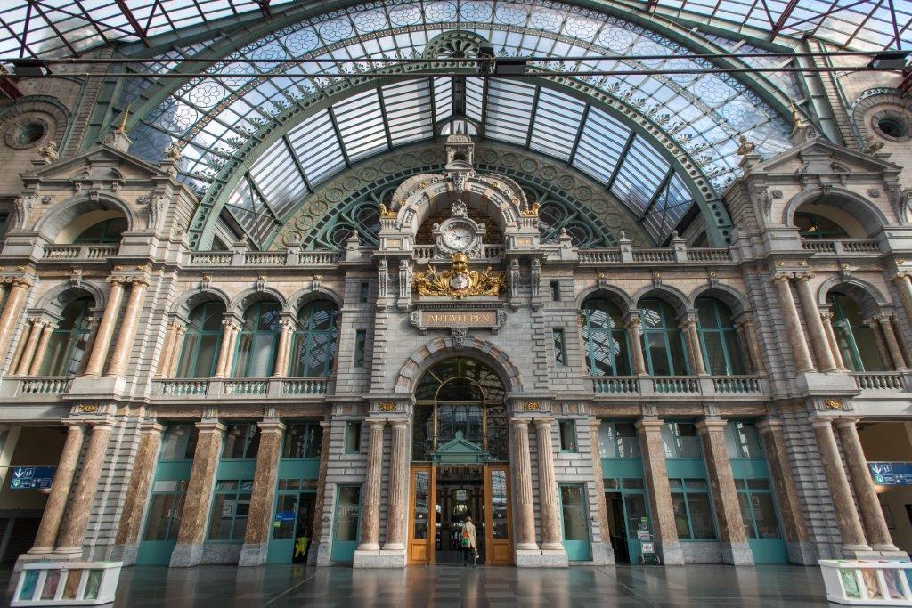 Antwerpen-Centraal, Copyright Janne Huttunen