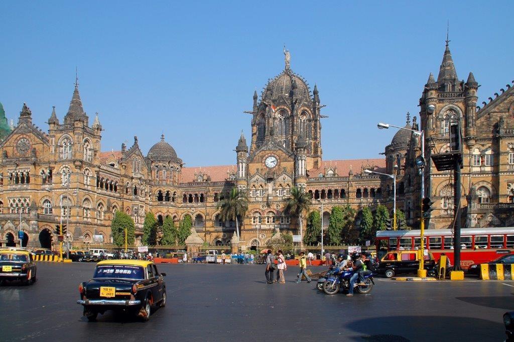 Chhatrapati Shivaji Terminus, Copyright John Bek
