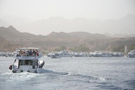 Il nuovo porto di Sharm