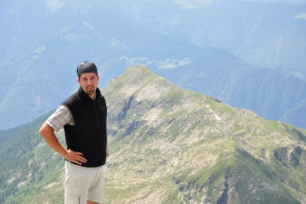 Sguardo dal Pizzo di Claro 2727msm sul Piz Molinera 2288 msm (Svizzera)