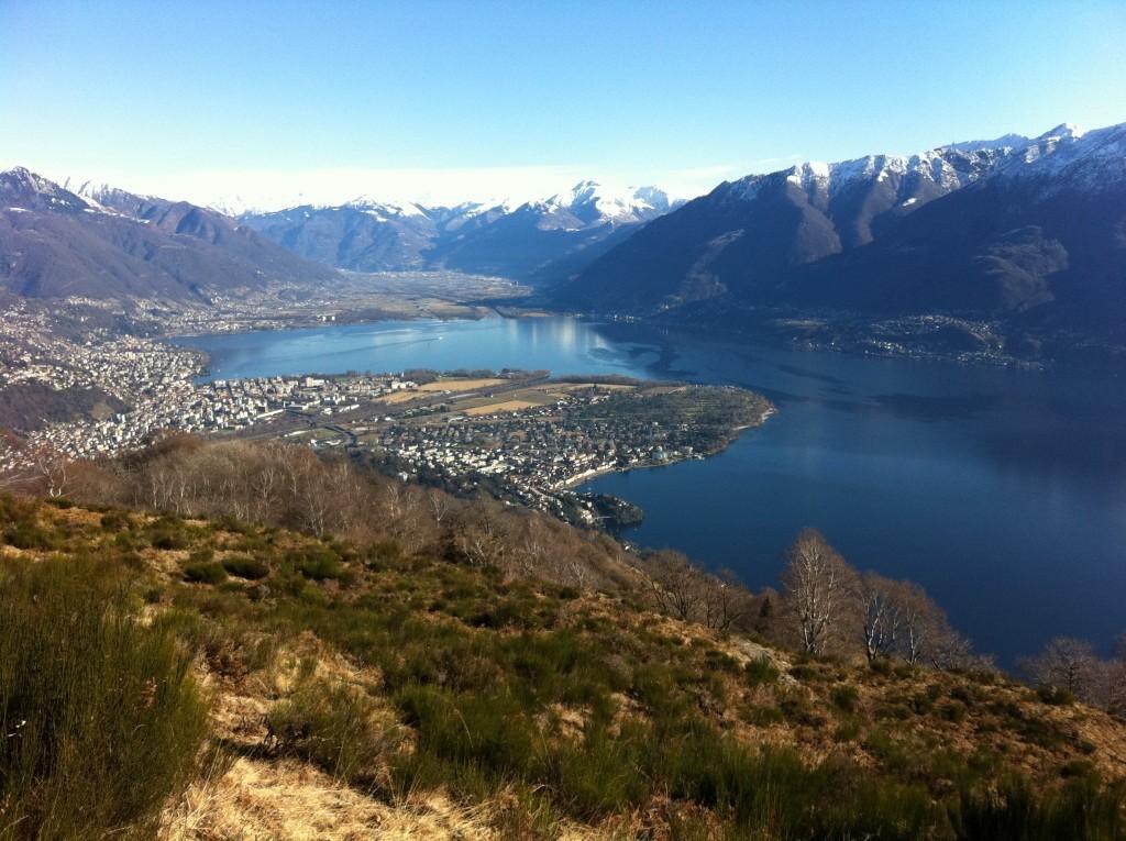 Lago Verbano e Piano di Magadino TI