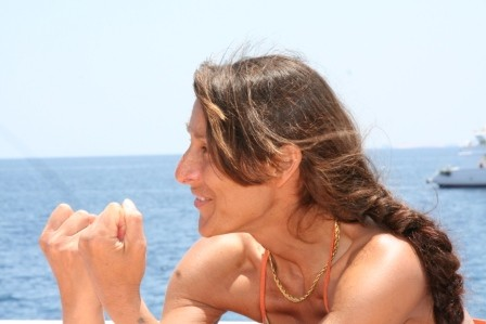 Patrizia, la nostra personalissima guida subacquea. Anche se ti abbiamo fatto disperare...GRAZIE!!