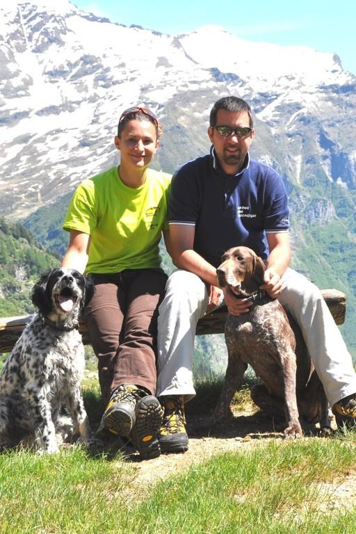 Pausa alla capanna Quarnèi 2108msm (Svizzera)