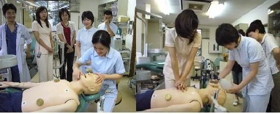 救急蘇生実習