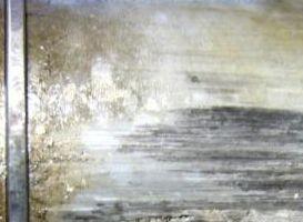 Kratzer und Riefen am Kolben