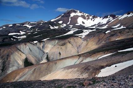 Bergwelt bei Borgarfjördur Eystri (IS)