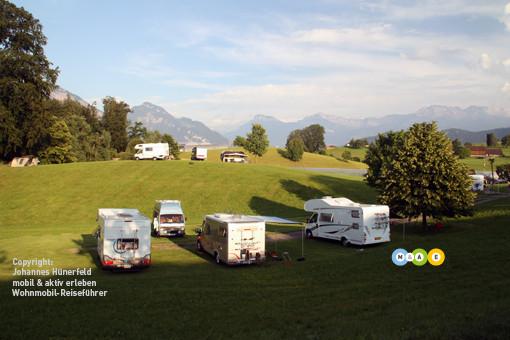 Campingplatz in Weggis