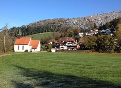 St. Blasius-Kapelle im Kohlenbachtal