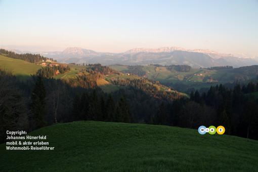 Panoramablick vom Schwesteregg