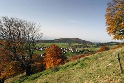 Gersbach - Blick auf die Hohe Möhr