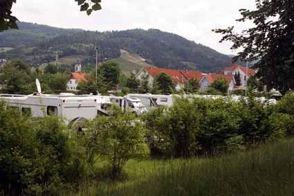 Wohnmobil-Stellplatz in Oberkirch