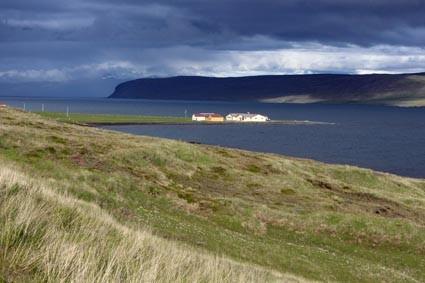 Auf der Fahrt in die Westfjorde (IS)
