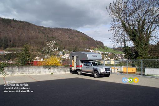 Parkplatz in Liestal