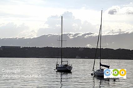 Gewitterstimmung am Genfer See