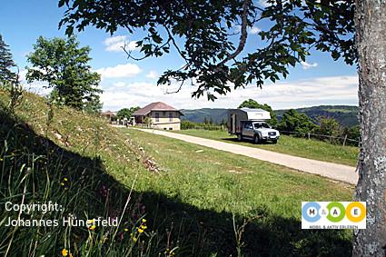 Le Grand Sommartel - Einkehr im Berggasthof