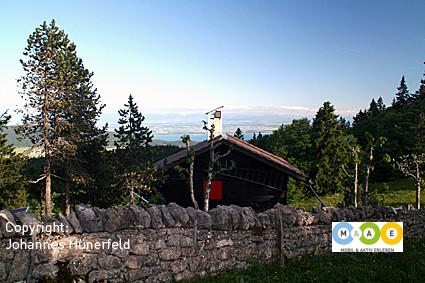 Alpenblick am Col de la Vue des Alpes