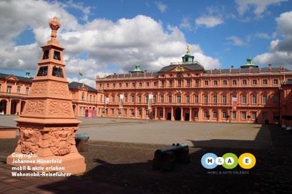 Residenzschloss in der Barockstadt Rastatt